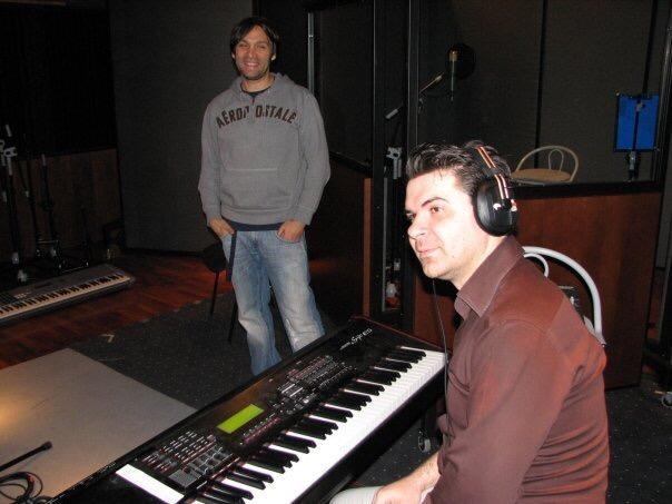 Snimanje albuma Mozda, SSL Studio Pink 2008